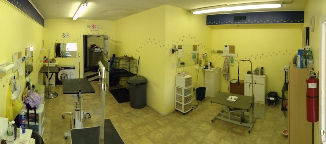 Grooming Area
